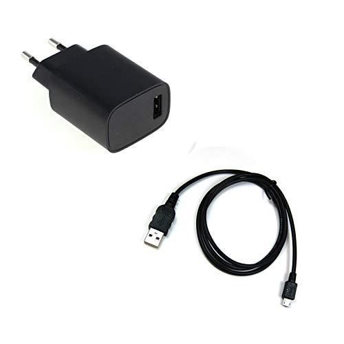 bg-akku24 Ladegerät und Ladekabel, Datenkabel, USB-Kabel für Sony Cyber-Shot DSC-HX90, DSC-HX90V, DSC-TX30, DSC-WX50, DSC-WX60, DSC-WX70, DSC-WX100, DSC-WX150, DSC-WX200, DSC-WX220, DSC-WX300