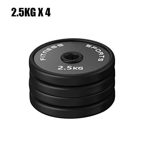 Discos de Pesas Discos Olímpicos Fraccional Micro Barbell placas placas de peso for entrenamiento de la fuerza y del edificio del músculo - Set de 4 Olímpico Barra Placas, 5 libras de peso aumentos