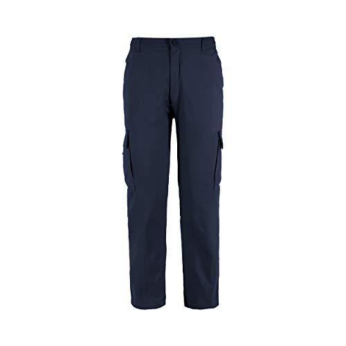 Pantaloni da Lavoro Uomo, Resistenti, Blu navy M