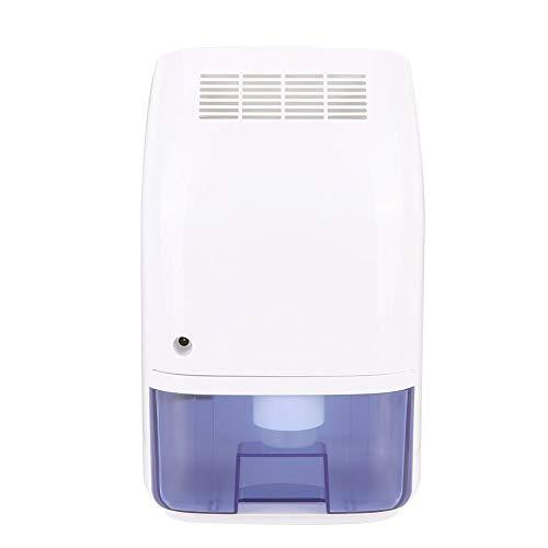 Redxiao Elektrischer Mini-Luftentfeuchter, 1 l geräuscharmer Mini-Luftentfeuchter Mini-Luftentfeuchter Feuchtigkeitsentfernung 110-240 V für Haus, Küche, Keller(EU Plug)