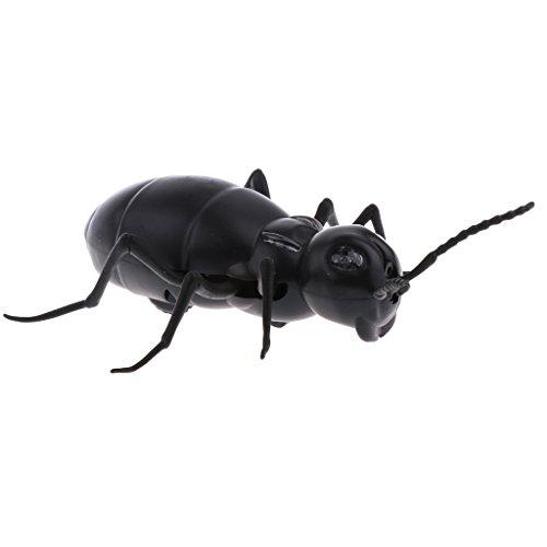 Infrarot Fernbedienung Elektrischer Schildkröte / Skolopender/ Küchenschabe / Skorpion / Spinne / Ameise / Käfer Spielzeug Schwarz Ameise