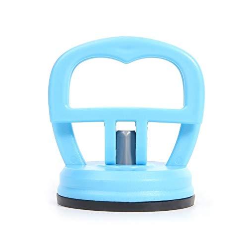 Gereedschapskist 2 stuks 2,2 inch mini autotandverwijderaar trekker auto body-gereedschap uitdeukgereedschap sterke zuignap reparatieset metaal glas lifter vergrendeling Donkerblauw