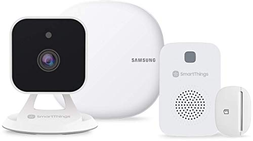 Vodafone V-Home by Safety Starter Kit Videocamera, Sensore, Sirena e Hub SmartThings per la Casa