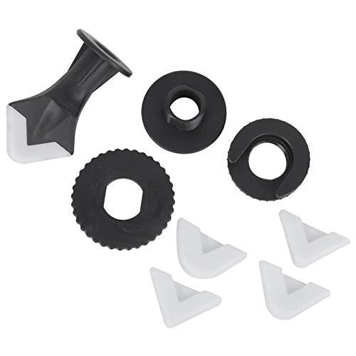 Juego de herramientas de acabado de sellador, raspador de silicona, herramienta de sellado, 9 piezas Juego de herramientas de acabado de sellador Raspador de silicona Herramienta de sellado Accesorio