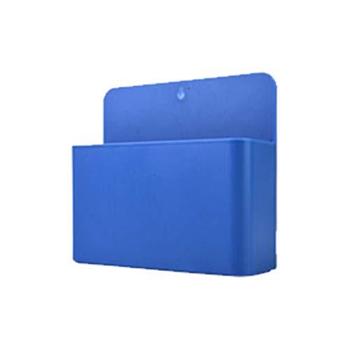 MIKI-Z Caja de Almacenamiento magnética, imán de Nevera Caja de Almacenamiento magnética Rejilla Pluma de plástico Organizador de lápices Ahorre Espacio