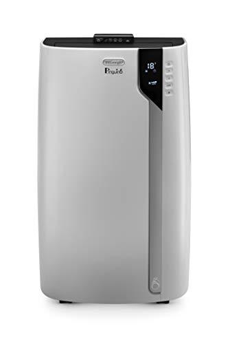 De'Longhi Pinguino PAC EX130 ECO RealFeel Mobiles Klimagerät mit Entfeuchtungs-Funktion, Pro Version bis 120cbm, Energieeffizienzklasse A