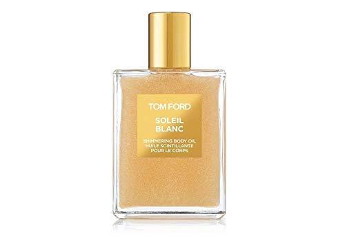 Tom Ford Soleil Blanc Shimmering Body Oil Made in Belgium 100ml - GOLD/ Tom Ford Soleil Blanc Aceite Corporal Brillante Hecho en Bélgica 100 ml - ORO