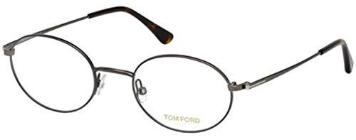 Tom Ford FT5502 Monturas de gafas, Gris (Anthracite Luc), 49.0 Unisex Adulto