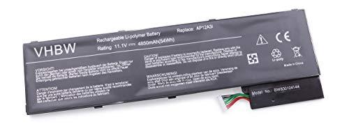 vhbw Batterie Li-Polymer 4850mAh (11,1 V) pour Ordinateur Acer Aspire série M3- M5. Remplace la Batterie Type 2217-2548, AP12A3i, AP12A4i, BT.00304.011 etc
