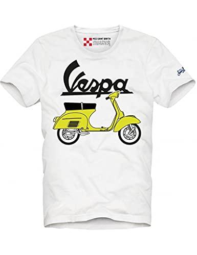 Saint Barth MC2 - Camiseta de hombre Vespa italiens 01n, multicolor, XL