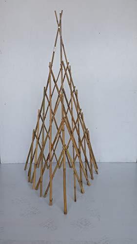 MGP Natural Bamboo Pole Tepee