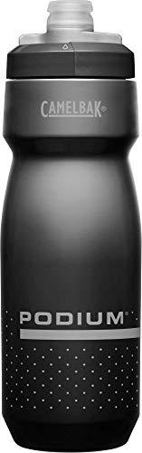 CAMELBAK Unisex– Erwachsene Podium Wasserflasche, 001 Black/Grey, 710 ml