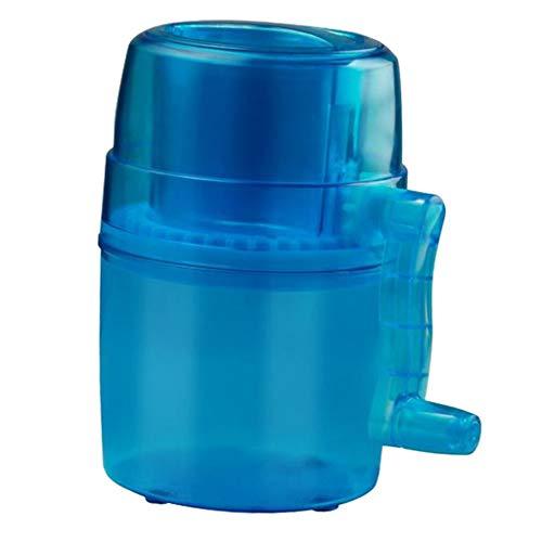 FLAMEER Petite Machine à Glace Mini Machine à Glaçons Rasée Antidérapant Bleu