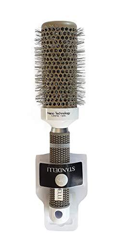 STANDELLI PROFESSIONAL Round Barrel Hair Brush Blow Dry Drying Bristle,...