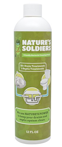 Drain Cleaner and Septic Tank Treatment. Safe Natural Enzymes....
