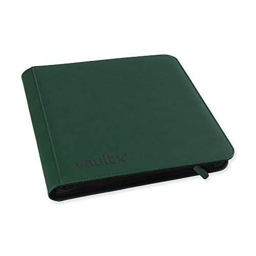 Vault X ® Sammelkarten-Ordner mit 12 Fächern, 480 Seiten, Grün