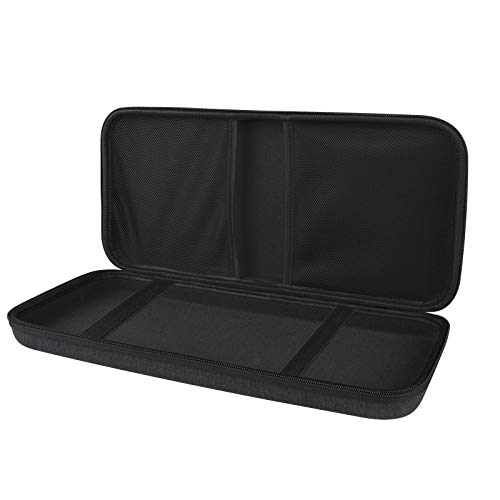 Linkidea Hard Travel Case for TKL Tenkeyless Wireless/Wired Keyboard, Computer 87 Keys Keyboard Carrying Case Protective Storage Box Bag