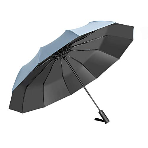 RONGXUE Reis-paraplu Knirps Automatische zonwering anti-uv-vouwen zonnescherm tuin buiten picknick en terras