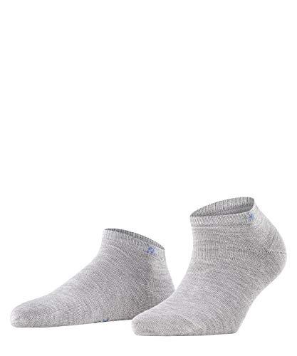 Burlington Damen Soho Vibes Sneakersocken, grau (Light Grey 3400), 36-41