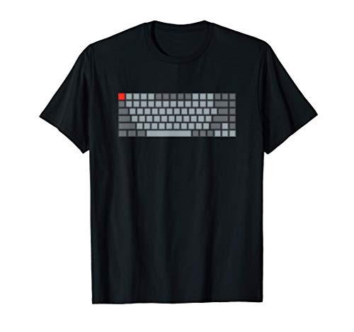 Mechanical Keyboard Design For Mech Life Fans T-Shirt