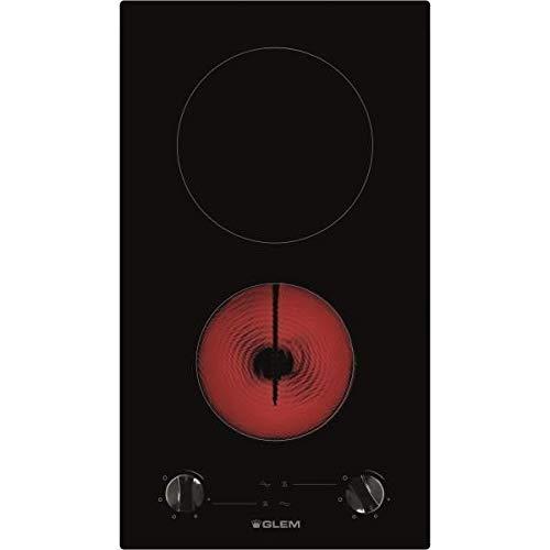 Glem gth32 m intégré céramique noir plaque – Plaque (intégré, céramique, verre et céramique, noir, 1200 W, environ)