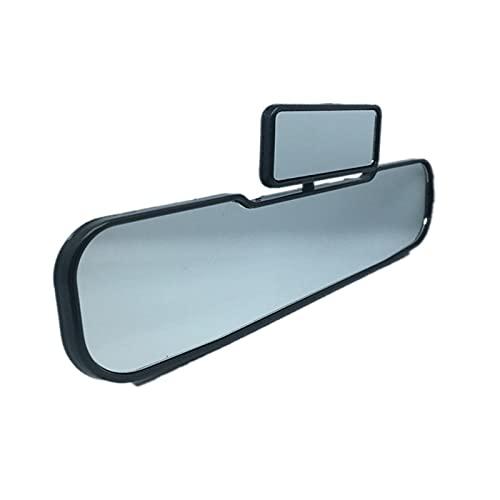 Yuchang LLPing 2 en 1 Espejos de Seguridad de Seguridad de Gran Angular giratoria Dobles retrovisor Espejo Vista niño Infantil niños Accesorios Interiores