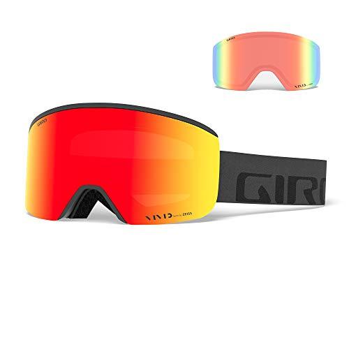 Giro Axis Masque de Ski/Snow, Unisexe Adulte, Grey Wordmark, Taille Unique