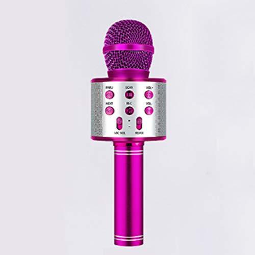 DAXINYANG El micrófono de Karaoke micrófono inalámbrico Bluetooth Altavoz Handheld Profesional del Jugador Canto del Registrador del micrófono,3