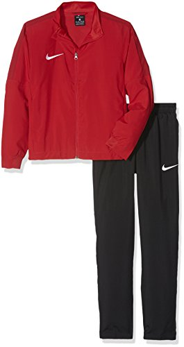 Nike Kinder Trainingsanzug Academy 16 Woven 2, university red/black/gym red/white, M, 808759-657