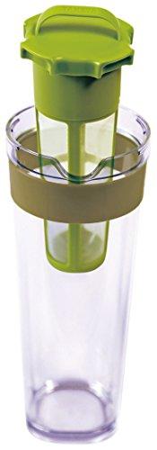 耐熱冷水筒スリムジャグⅡ茶漉し付1.1Lカーキ