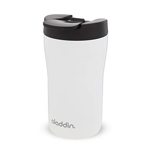 Aladdin Latte Edelstahl Trinkbecher, White, 0,25 Liter