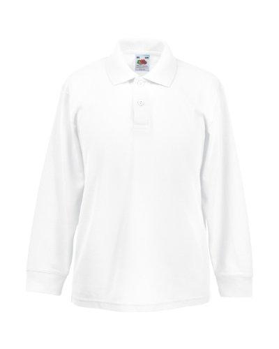 School Uniform 365 Jungen Poloshirt Gr. 14-15 Jahre, weiß