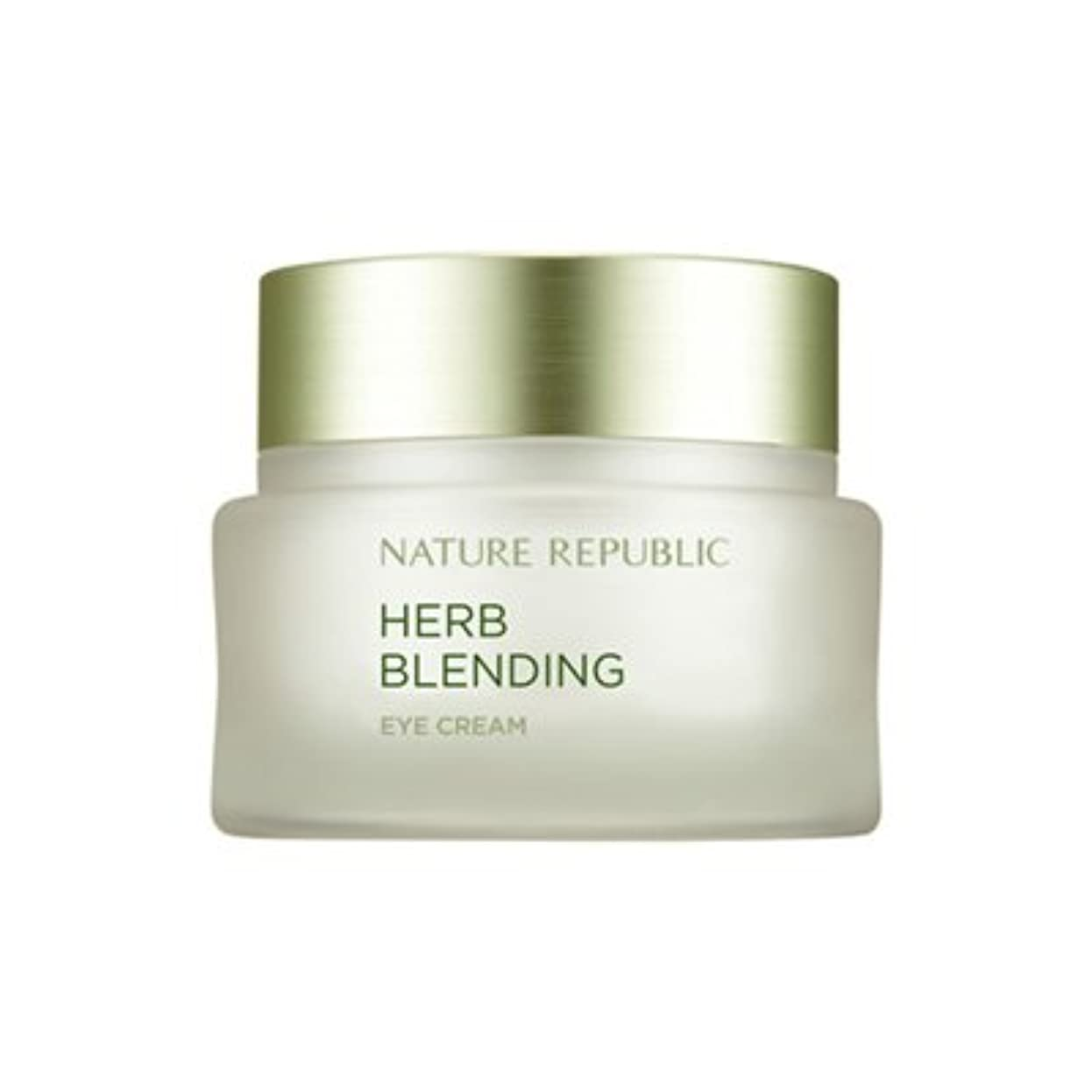 腹痛四分円コンサルタントNATURE REPUBLIC Herb Blending Eye Cream ネイチャーリパブリック ハーブブレンドアイクリーム [並行輸入品]