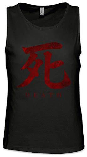 Urban Backwoods Death Symbol Herren Männer Tank Top Training Shirt Schwarz Größe 5XL