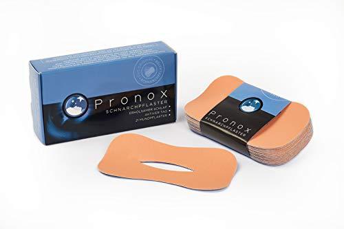 PRONOX Schnarchpflaster – Schnarchstopper für ruhige Nächte (bis zu 100% weniger Schnarchen, erholsam schlafen)