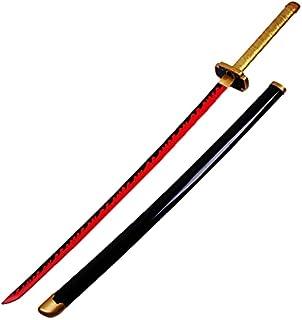 One Piece Demon Slayer.Cosplay Bamboo Sword Model Cosplay Katanas Blade Sword Wapen Prop 1: 1 Anime Ninja Sword Weapon Toy...
