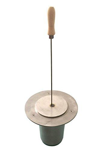FISCHER Bioethanol-Brenner 1-flammig für Garten, Terrasse oder Innenbereich ***NEU***