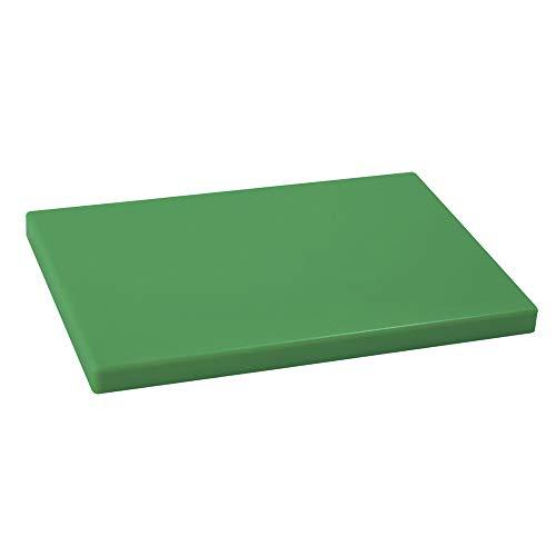 Metaltex 73332036, Tabla de corte profesional, polietileno, Verde, 33 x 23 x 2 cm