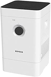 BONECO H300 - Hybrid Humidifier & Air Purifier, 3-in-1 Air Washer - Removes Contaminants Like Pollen and Smoke - Super Quiet - Multi-Settings Including Baby and Sleep Modes