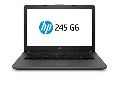 HP 245 6BF83PA 2018 14-inch Laptop (A6-9225/4GB/1TB/DOS/Integrated Graphics), Black