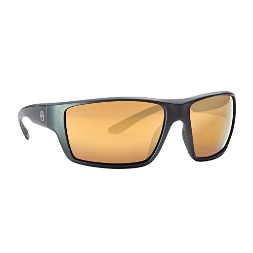Great Features Of Magpul Terrain Sunglasses, Matte Gray Frame, Bronze Lens with Gold Mirror (Polariz...