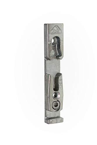 Roto DK Schließstück 18 mm Falz , silber