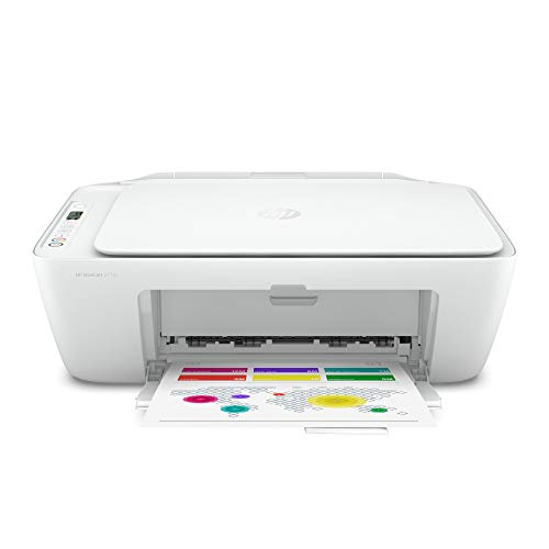 HP DeskJet 2710 Multifunktionsdrucker (Instant Ink, Drucker, Scanner, Kopierer, WLAN, Airprint) mit 2 Probemonaten Instant Ink inklusive