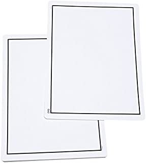 Didax Educational Resources Write-On/Wipe-Off Blank Mats Math Resource