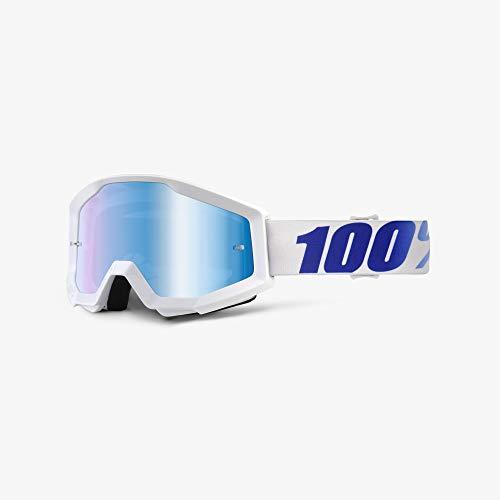 100% 50410-237-02 Strata Equinox Masque de Vtt Blanc