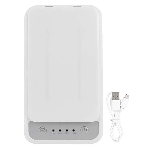 Changor Celda Teléfono Limpiador, Eficiente Luz Desinfectante 220x120x45mm Abdominales