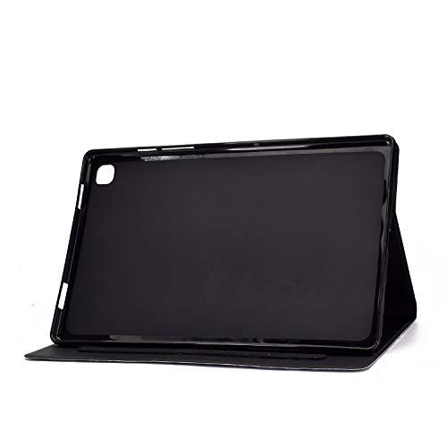 Succtop Hülle für Galaxy Tab A7 10,4 Zoll 2020, Folio Flip PU Leder Schutzhülle Galaxy Tab A7 Stifthalter Stand Wallet Cover Case Tablet Hülle Samsung Galaxy Tab A7 T500/T505/T507, Blumenelefant