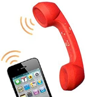 Bluetooth Smartphone Retro Mobile Handset in Red