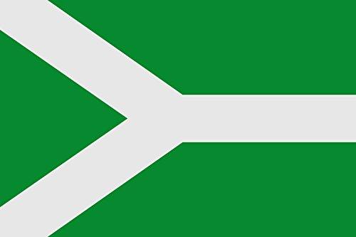 magFlags Bandera Large Municipio de Malpartida de Plasencia; en Cáceres | Bandera Paisaje | 1.35m² | 90x150cm