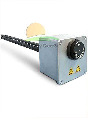 Resistencia eléctrica blindada monofásica con termostato para acumulaciones hervidoras (2,5 kW)